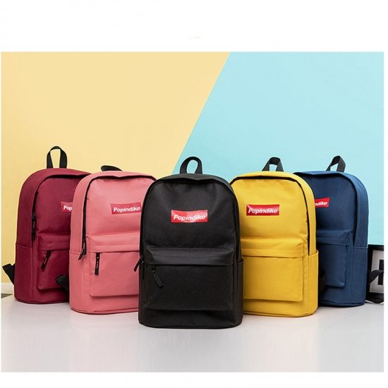 Polyester Fashion Promotional Backpack
