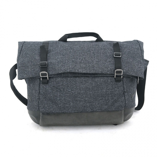 Clamshell Messenger Bag