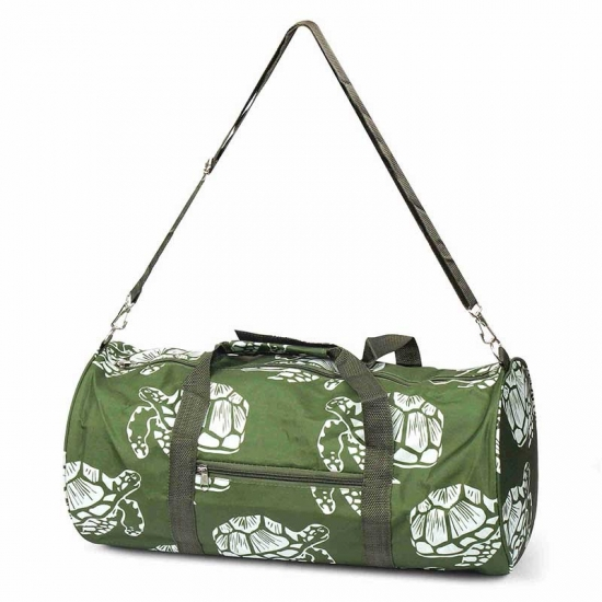 Turtle Printing Duffel Bag