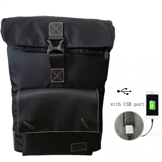 Nylon Antitheft Backpack