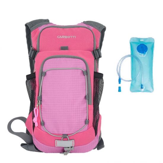 Pink Ripstop Hydration Backpack